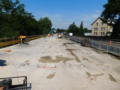 Práce na mostě přes Jizeru v Turnově komplikuje diagnostický průzkum