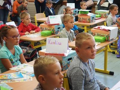 První třídy se v Turnově otevřely pro 169 prvňáčků