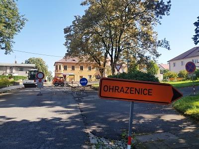 Položí finální asfalty mezi Přepeře a sídliště na Přepeřské v Turnově