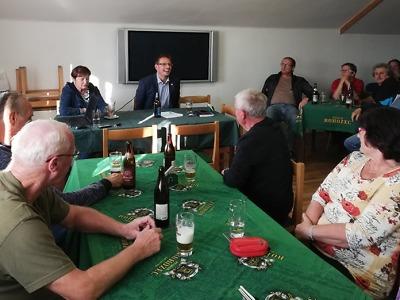 Turnovský starosta po prázdninách zavítal za občany Mašova