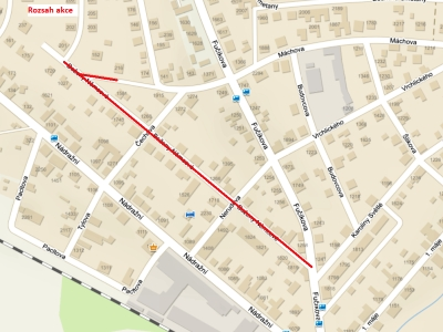 Od června začne rekonstrukce ulice Boženy Němcové v Turnově