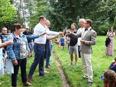V Turnově pořádali Parkovou slavnost na počest nového potoka
