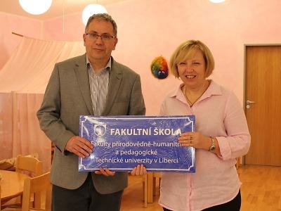 Waldorfská MŠ Turnov získala status fakultní školy