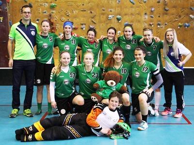 Turnovské florbalistky pořádají finálový turnaj juniorské ligy