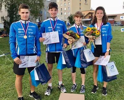 Mistrovský titul pro mladé orientační běžce z Turnova