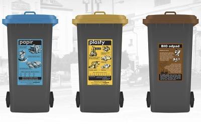 Jak bude fungovat nový systém sběru tříděných odpadů v Turnově?