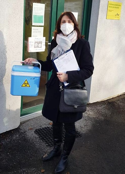Zahájili očkování v Domovech s pečovatelskou službou v Turnově