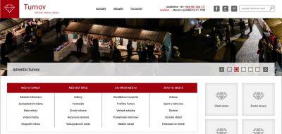 Turnovská radnice změnila webové stránky