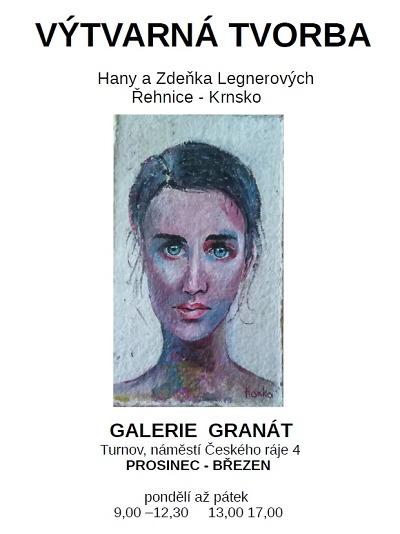 V Galerii Granát otevřeli výstavu tvorby manželů Legnerových