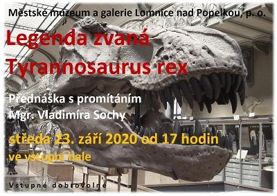 Vladimír Socha v Lomnici představí legendárního Tyranosaura Rexe