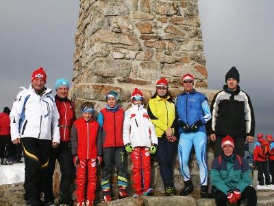 Jilemničtí lyžaři uctili památku 104. výročí tragédie na Zlatém návrší