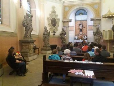 Valdštejn se po roce opět účastnil Noci kostelů