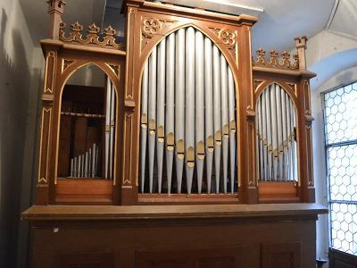 Varhany na Valdštejně prošly historicky prvním generálním čištěním
