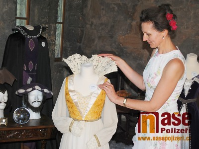 FOTO: Kostýmy Arabely, Slavěny či Večernice spatříte na Valdštejně