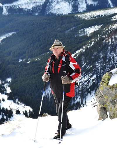 Navždy odešel kamarád a legenda horské služby Valerián Spusta
