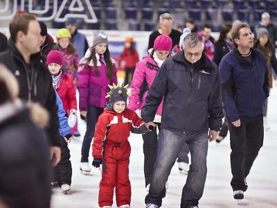 Vánoční bruslení ve Sport Parku Liberec