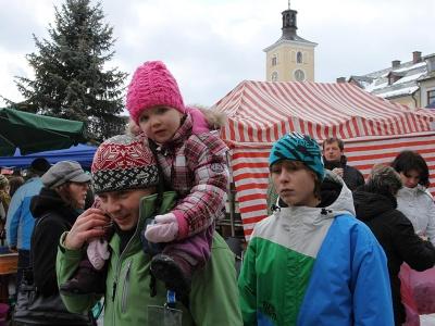 FOTO: Jilemnický vánoční jarmark přilákal stovky návštěvníků