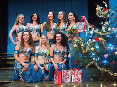 Obrazem: Vánoční Orient show v Košťálově 2017