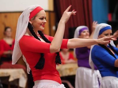 Obrazem: Vánoční Orient show v Košťálově 2019
