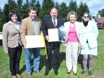 Rádlo oslavilo vítězství v soutěži Vesnice roku 2014 Libereckého kraje