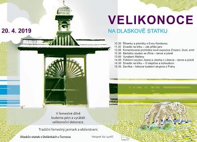 Velikonoce na Dlaskově statku chystají na 20. dubna
