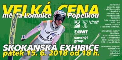 Nejlepší skokané na lyžích si zazávodí na Velké ceně Lomnice