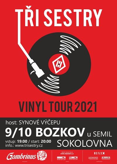Tři Sestry v rámci Vinyl Tour zajíždí i do Bozkova