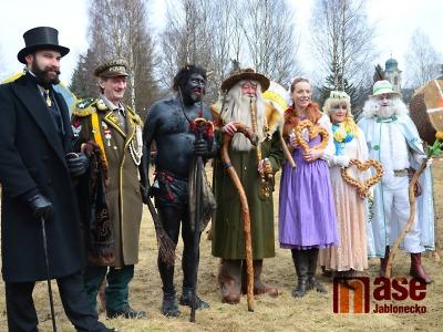 Obrazem: Krakonoš s pomocníky přivítal v Harrachově jaro