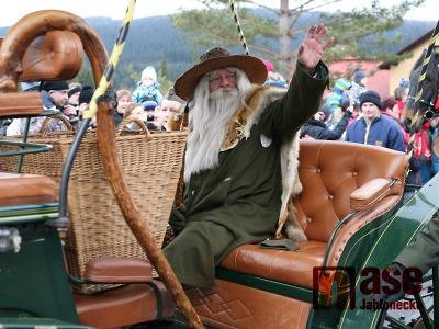Krakonoš přivítal v Harrachově tradičně s veškerou parádou jaro