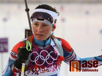 První medaili na olympiádě získala Veronika Vítková