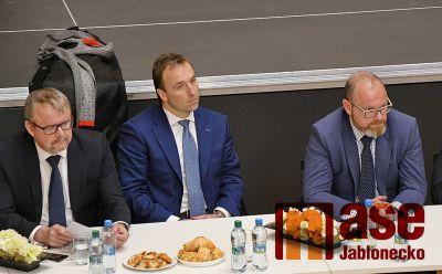 Vláda České republiky navštívila Liberecký kraj