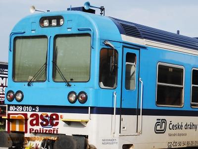Od 2. září bude v regionu několik vlakových výluk
