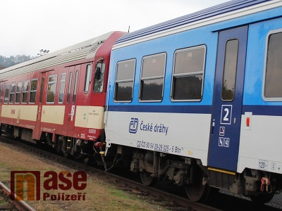 U Malé Skály srazil vlak ženu, ta na místě zemřela