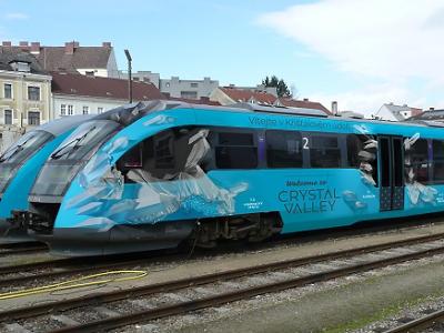 V Železném Brodě zastaví Křišťálový vlak