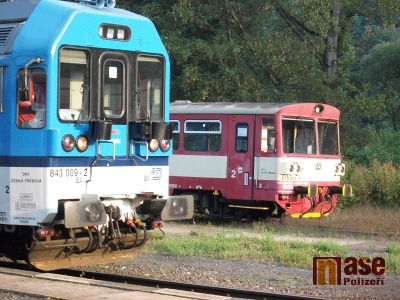 Na konci září a během října probíhají vlakové výluky na několika tratích