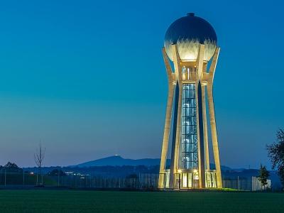 Věžový vodojem v Ohrazenicích má 20. června den otevřených dveří
