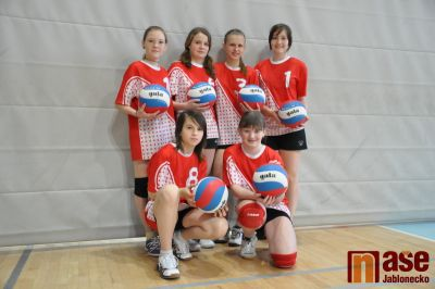 Volejbalistky TJ Turnov hrály na turnaji v Jablonci