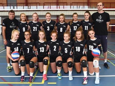 Volejbalové kadetky Turnova prohrály s pražským Meteorem