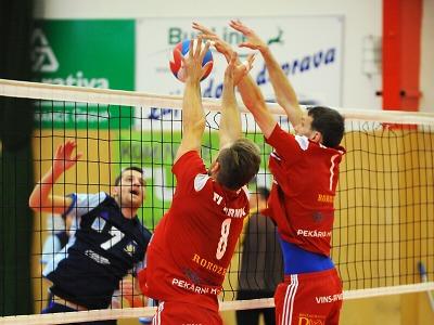 Volejbalisté TJ Zikuda Turnov uhájili domácí neporazitelnost