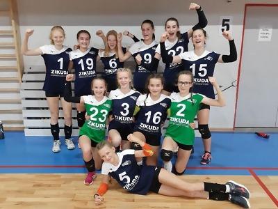 Skvělé vystoupení volejbalových starších žákyň v českém poháru