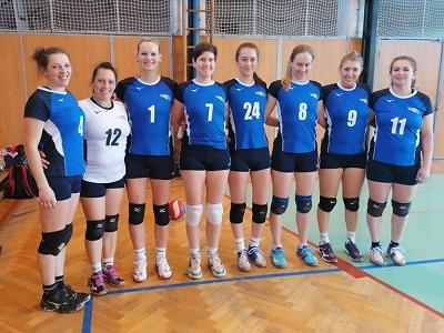 Turnovské ženské volejbalové béčko urvalo proti Varnsdorfu dvě výhry