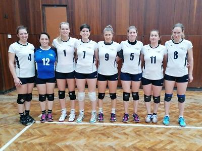 Napínavá podívaná na volejbal ženských družstev v Železném Brodě