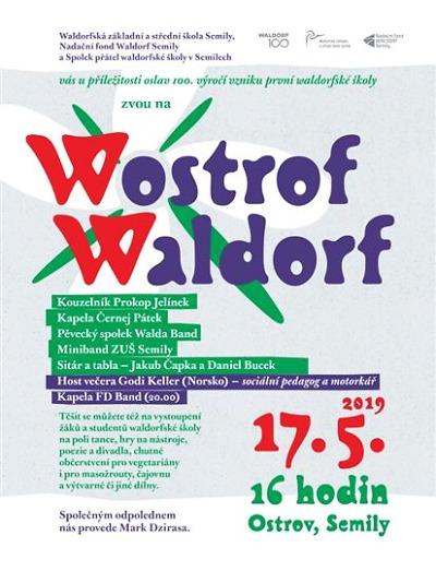 Akce Wostrof Waldorf připomíná 100. výročí založení waldorfských škol