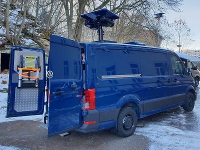 Policisté mají mobilní termovizi ke střežení státní hranice