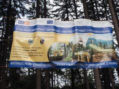 Jak se vám líbí budovaný vyhlídkový lesopark nad Rokytnicí?