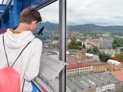 Vyhlídka z libereckého mrakodrapu je opět otevřena pro veřejnost