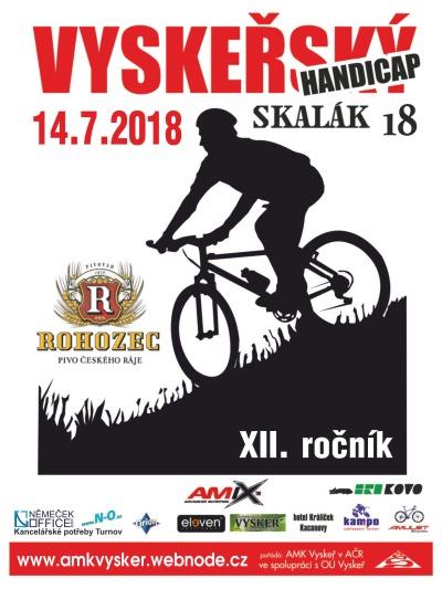Na Vyskři už připravují 12. ročník cyklozávodu Vyskeřský handicap