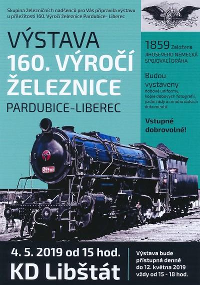 V Libštátě připomenou 160. výročí dráhy Pardubice – Liberec výstavou
