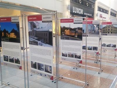 Putovní výstava v OC Fórum láká na revitalizované brownfields