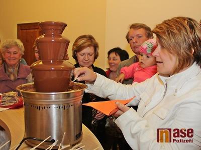 Obrazem: Výstava čokolády v jilemnickém zámku